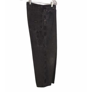 Distressed WRG Jeans Co. Black Cargo Pants Size 39